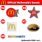 McDonald's PINS series 7【マクドナルド ピンズ】