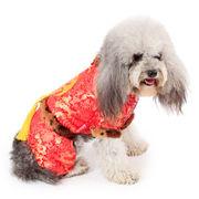 可愛い新品暖かいバーカ ペット服 犬服棉 シヤツコート