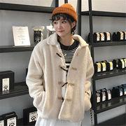 韓国 スタイル ファッション レディース 着まわしやすい 無地 ジャケット スタジャン アウター