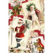 Rakka ヴィクトリアン クリスマス ポストカード RVX01