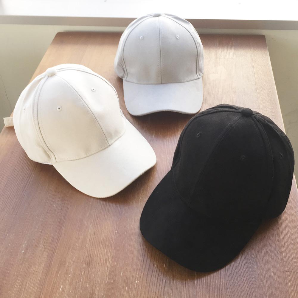 ☆15%OFF☆【オールシーズン使える♪】 スエード仕様ベーシックキャップ(帽子)