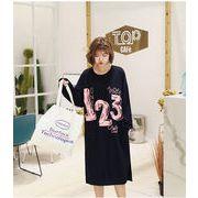 秋冬新商品730376 大きいサイズ 韓国 レディース ファッション 裏起毛 ワンピース パーカー3L 4L 5L