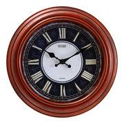 掛け時計 アルコル Φ30cm レッドブラウン