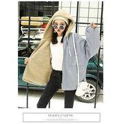 秋冬新商品730379 大きいサイズ 韓国 レディース ファッション ファー コート  3L 4L 5L