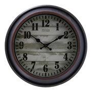 掛け時計 アルコル Φ30cm ブロンズ×ブラック