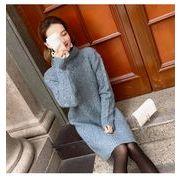 秋冬新商品730384 大きいサイズ 韓国 レディース ファッション  セーター パーカー  3L 4L 5L