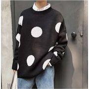 秋冬新作メンズセーター トップス ゆったり カットソー♪パープル/グリーン/ブラック3色