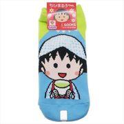 【靴下:レディース】ちびまる子ちゃん レディースソックス/お茶