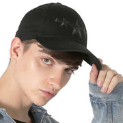 キャップ 刺繍 スター 星 ベースボールキャップ 帽子 フリーサイズ メンズ インプローブス 韓国