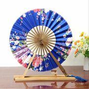 和風 扇子 せんす 花柄 フリンジ付き 和雑貨 絹製品 全13種類
