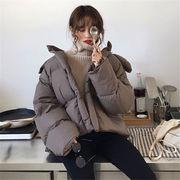 韓国風 ファッション 【秋冬新作】 ハングルセレブstyle 厚手 キルティング ジャケット