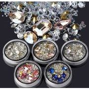 【福袋】 ネイルチップ カラーダイヤモンド