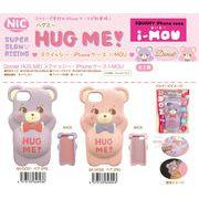 「i-Phone 8/7/6s/6対応」「NIC」「squishy」Domiel HUG MEIドミールハグミースクイーズiPhoneケース