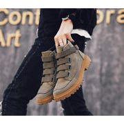 【韓国人気商品!!★超目玉★】メンズブーツ  ハイメンズシューズ  冬ブーツスノーブーツ  工具ブーツ