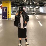 韓国ファッション   CHIC気質   ゆったりする  レトロ  レオパード  コート