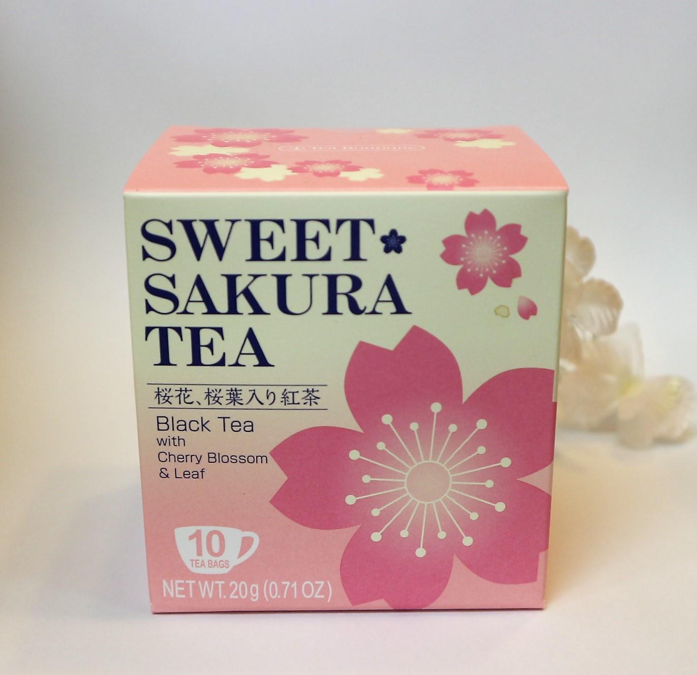 桜咲く・春のひと品♪スイートサクラティー◇紅茶【便利なティーパッグ】