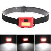 COB 高輝度LED ヘッドライト ヘッドランプ 防災グッズ LEDヘッドライト アウトドア