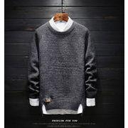 新作 メンズ ニット セーター 秋冬 カジュアル おしゃれ マストアイテム 暖かい かっこいい dmnit005