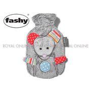 S) 【ファシー】 FASHY 65210 23 MIMI MOUSE COVER  湯たんぽ ミニマウス カバー グレー 0.8L
