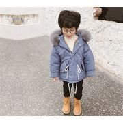 限定発売☆高品質で☆韓国ファッション/中・長セクション/厚手/綿入れダウンコート/男の子ファッション
