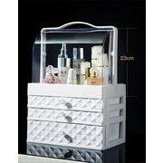 ★新製品の入荷  化粧品 小物  高品質  収納ボックス オーガナイザー 引き出し付き 大容量