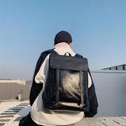 ★限定発売★韓国ファッション/大人気/高品質で/PUレザー/大容量/旅行/カジュアル/デイバッグ/バッグ