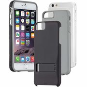 iPhone6s/6  Hybrid Tough Stand Case Black/Grey  CM033547