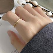 シルバー 925 シルバーリング 14金メッキ  sterling silver silverring ◆メール便対応可◆