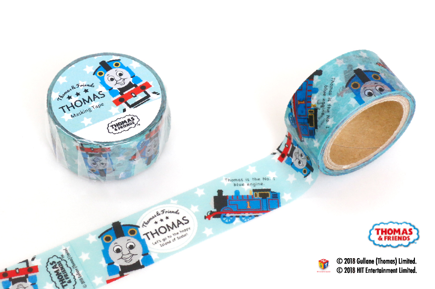 Kikka トーマス マスキングテープ 5種類【2019_1_15発売】