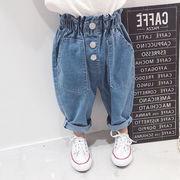 格安!春秋デニムズボン★男女兼用★キッズ★ジーンズ★ジーパン★韓国子供服★パンツ★7-15選択可
