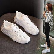 熏 靴 超人気 ネット レッド 韓国風 春 ささいなこと ヒール 白い靴 女 ファッショ