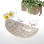 美しいシェルプレート ★big bowl★     ~ディスプレイにも最適  バリ島より直輸入!