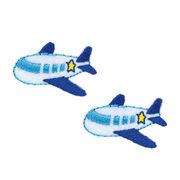KIYOHARA お気に入りシリーズ 飛行機ミニワッペン