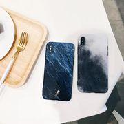 iPhone XS Maxケース スマホカバー 大理石柄 シンプル