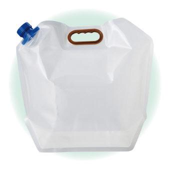 (防災・防犯)(給水袋・バケツ)ケータイ水タンク10L PW-10
