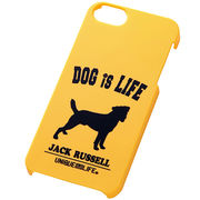 iPhone5/iPhone5sスマホケースハードケース ドッグシルエット ジャック・ラッセル