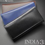 BEAMZSQUARE インディアバッファローレザー長財布 BS-80501 3色展開