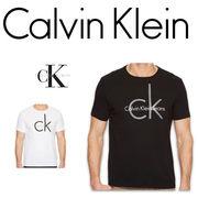Calvin Klein Jeans CLASSIC CK LOGO   CREW NECK TEE 17334