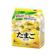 【ケース売り】クノール ふんわりたまごスープ5食入袋