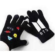 ★寒い冬★韓国スタイル★BTS手袋★ニット手袋★アウトドアスポーツ用★防寒★厚さ★保温★かわいい