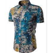 ★19年新発売★ストレッチ シャツ メンズ スウェット カジュアル アメカジ 上着