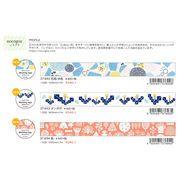 【Papier Platz】デザイナーズ マスキングテープ nocogou(ノコゴウ) 3種 2019_3_4発売