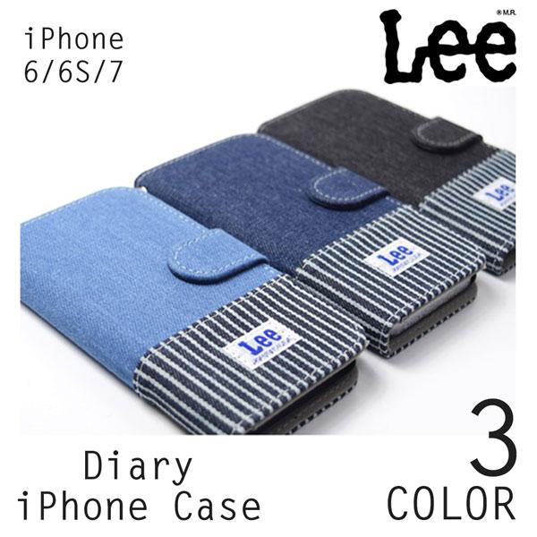 リー Lee iPhoneケース 手帳型スマホケース  iPhoneカバー 0520397