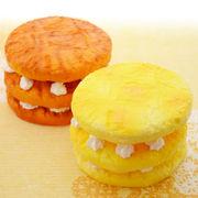 スクイーズ squishy 3段パンケーキスクイーズ