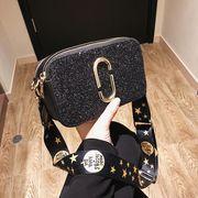 バッグ 斜め掛け ショルダーバッグ ハンドバッグ 韓国ファッション キラキラ 人気