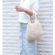 【KAGOBAG】【CARMELINA(カルメリーナ)】マクラメハンドバッグ