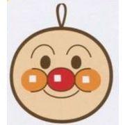 【アンパンマン】顔型ループ付ハンドタオル