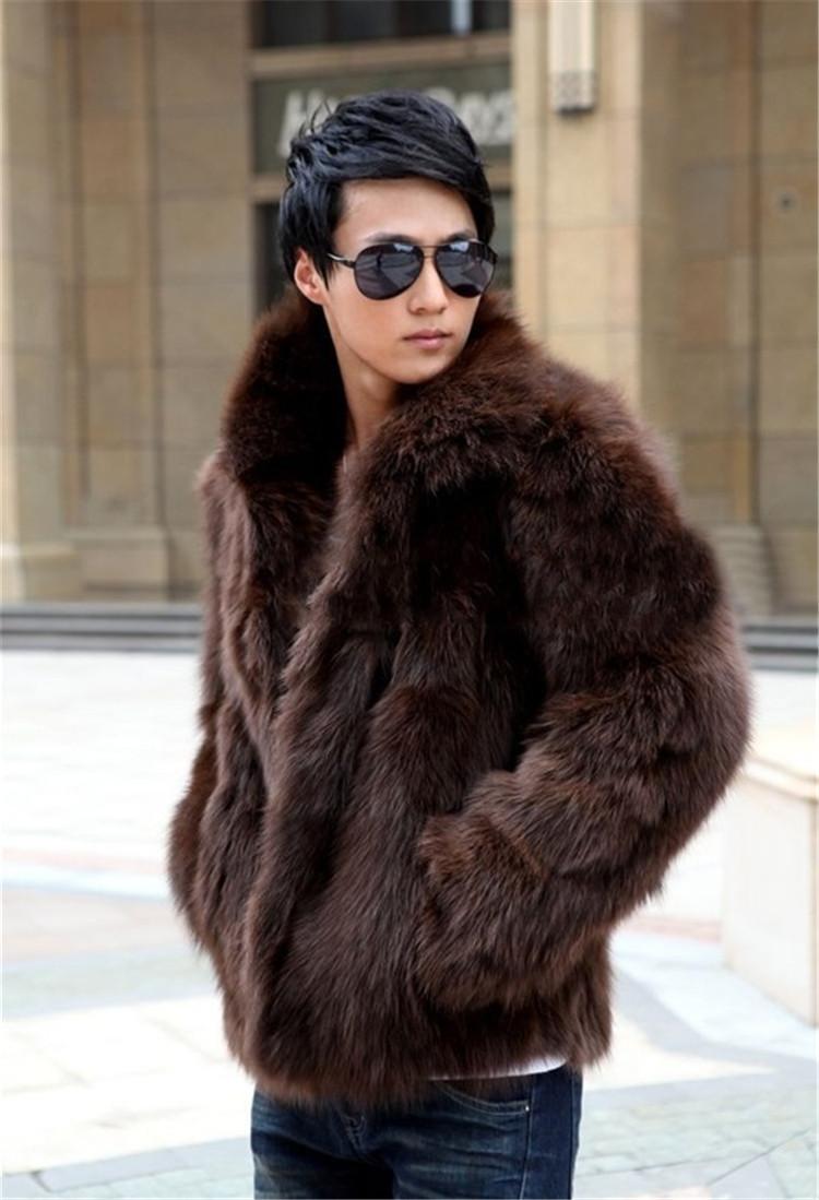 限定SALE価格 見逃し禁止! 新作 メンズ ファーコート 毛皮コート ファー付き ショットコート 上着  防寒