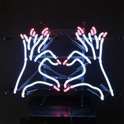 アメリカン雑貨 看板 ネオンサイン NEON SIGN HEART HAND ハートハンド