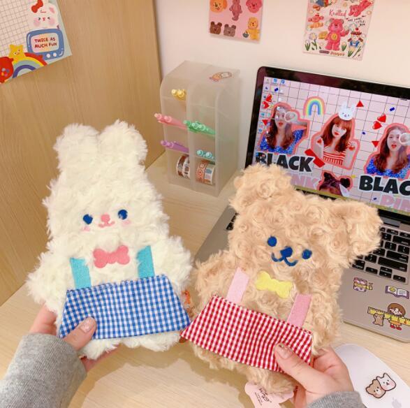 文房具 ペンケース かわいい ウサギ クマ 萌え 大容量 収納袋 韓国風